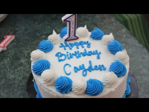 Cayden's 1st Birthday Party!