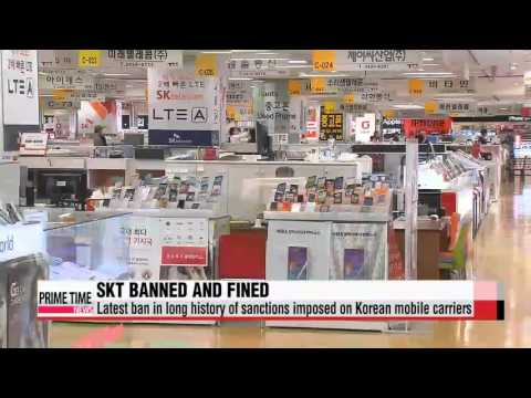 SK Telecom business ban, latest in series of sanctions to mobile carriers in Kor