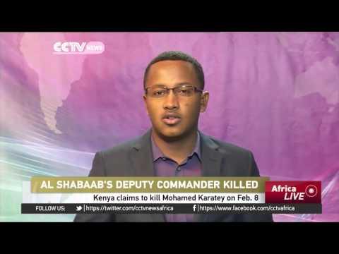 Kenyan army kills al-Shabaab deputy commander