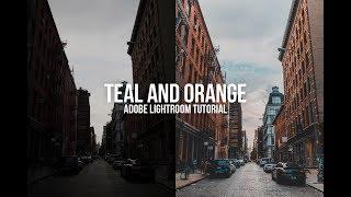 How to edit like sam kolder Teal and Orange Lightroom Tutorial