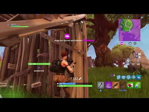 Fortnite intense game ends with 2nd solo win