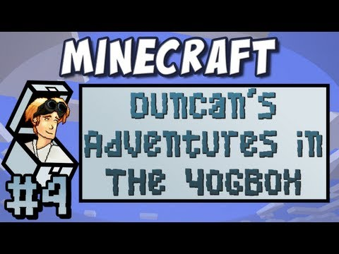 Minecraft: Duncan's Adventures in The Yogbox - Part 4 - Crystals!