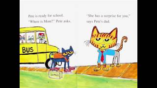 PETE THE CAT AND THE SURPRiSE TEACHER | Bedtime Story | Children's Book