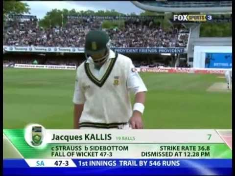 JACQUES KALLIS CAN'T BAT IN ENGLAND... A TALE OF FAIL OVER A CAREER