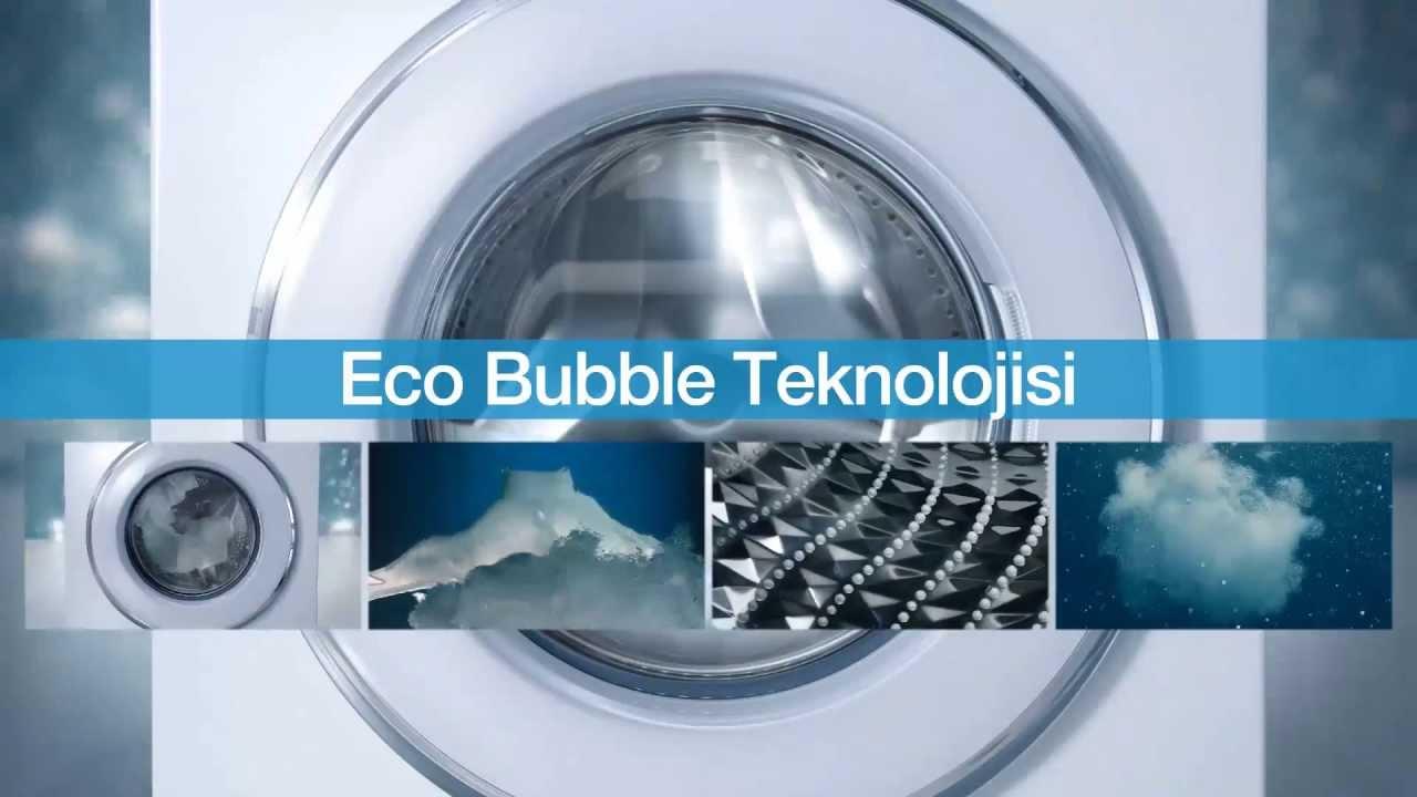 samsung eco bubble teknolojisi tan t m videosu youtube. Black Bedroom Furniture Sets. Home Design Ideas