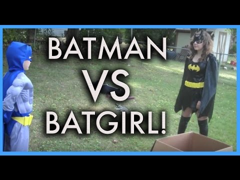 BATMAN VS. BATGIRL - THE MOVIE