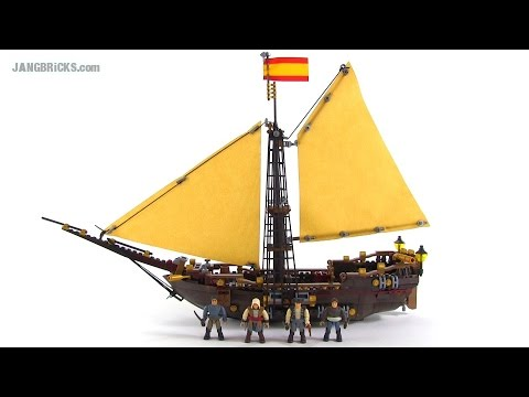 Mega Bloks Assassin's Creed 94308 Gunboat Takeover set review