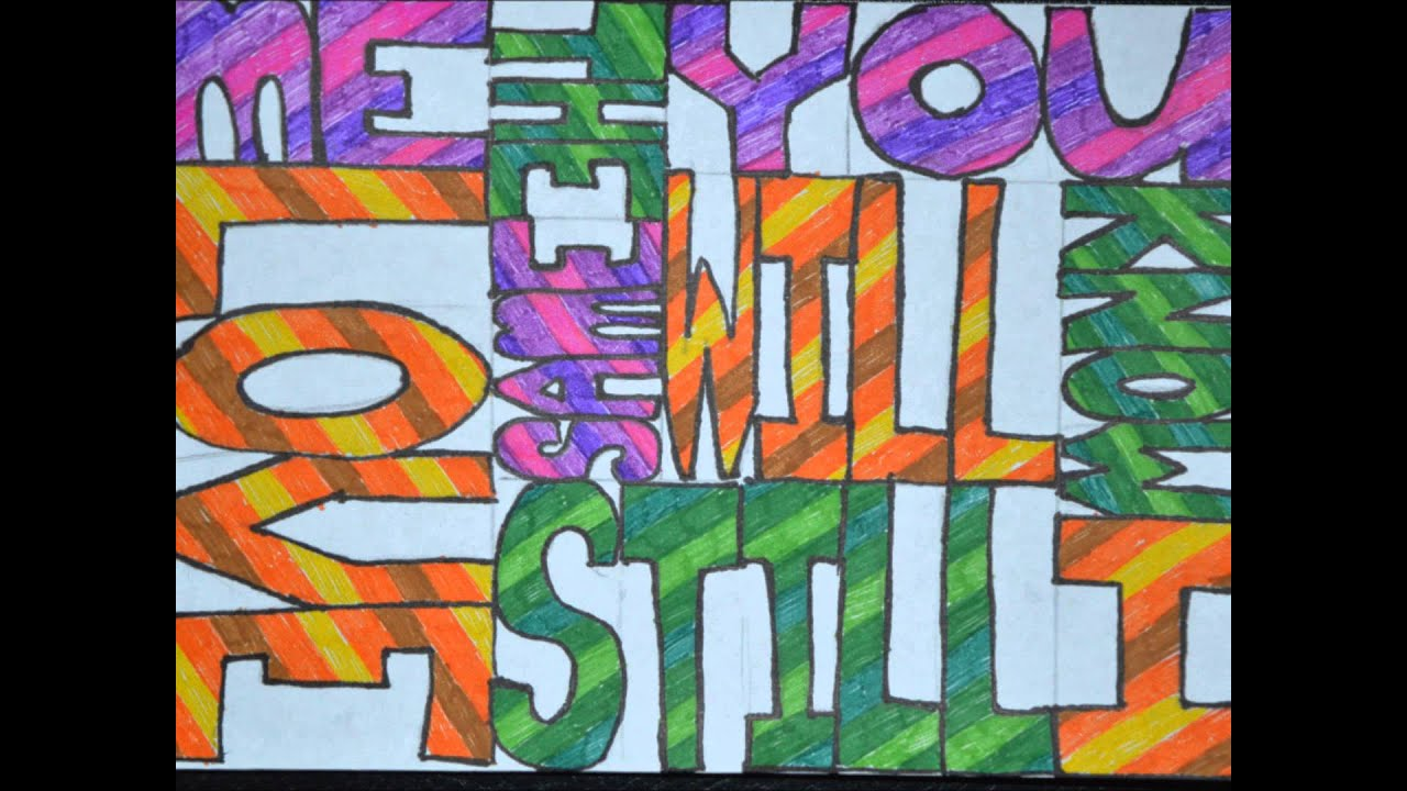 One Way or Another Lyrics Drawing Loud Lyrics Drawing Out