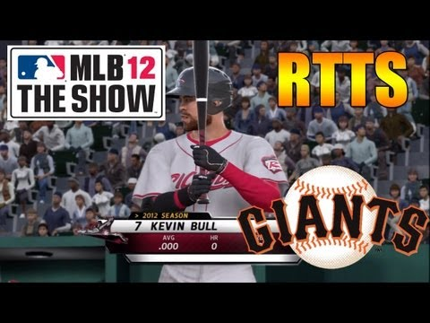 MLB 12 Road to the Show 1B – Character Creation [EP01]