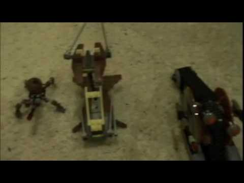 Lego star wars wookie attack review