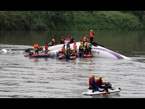 Taiwan Plane With 58 Passenger on Board Crashes - TOI