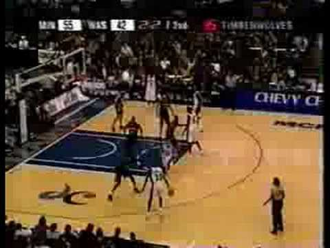 Michael Jordan 2002: 35pts at age 38 Vs. KG's 'Wolves