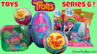 Dreamworks Trolls Series 6 Blind Bags Opening Chocolate Eggs Chupa Chups Surprise Toys