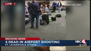Gunman kills 5 people, wounds 8 at Fort Lauderdale airport