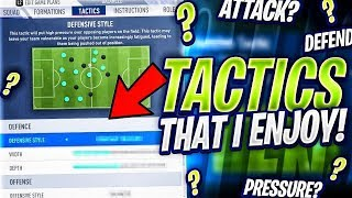 MY INSANE 28 WIN TACTICS! FORMATION & PLAYER DISCUSSION! FIFA 19 Ultimate Team