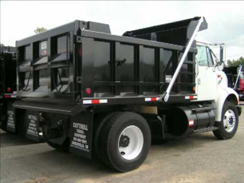 1998 International 8100 Single Axle Dump Truck Crossville