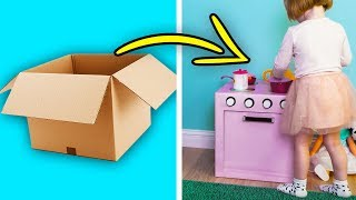 10 GREAT CARDBOARD DIYS FOR KIDS