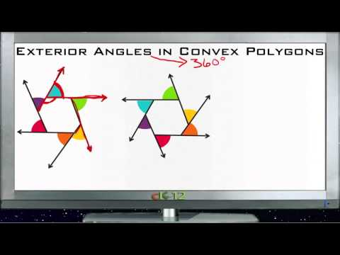 Exterior Angles in Convex Polygons Principles - Basic