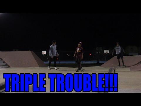Triple Trouble?!?!