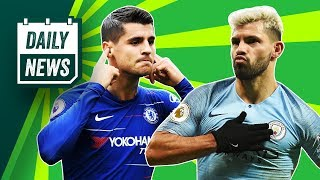 Man City 2-1 Liverpool + Morata to leave Chelsea + Real Madrid FAIL again ► Onefootball Daily News