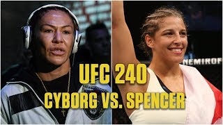 Unlocking keys to victory for Felicia Spencer and Cris Cyborg   UFC 240   ESPN MMA
