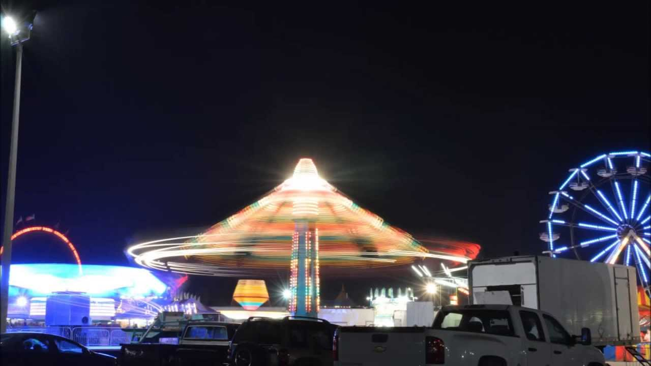Photographing Carnival Rides At Night Carnival Night Photography in