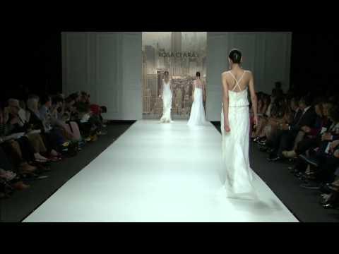 Desfile de vestidos de novia de Rosa Clará 2015