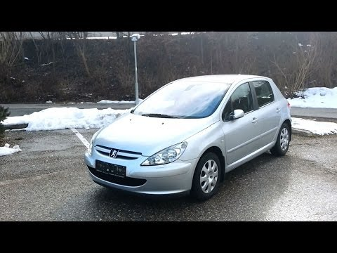 2001 Peugeot 307 - Presentation (Start-Up. Engine. Exhaust. In-Depth-Tour)