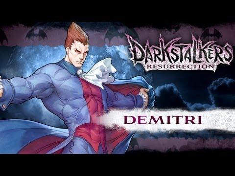Darkstalkers Resurrection - Demitri Maximoff