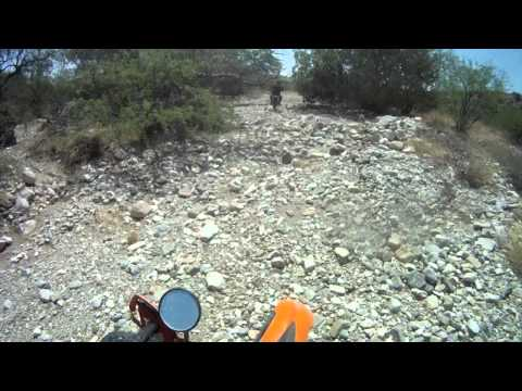 Vail Az dirt bike ride to the Narrows