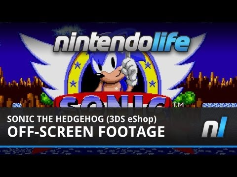 3D Sonic The Hedgehog (3DS eShop) Off-Screen Footage
