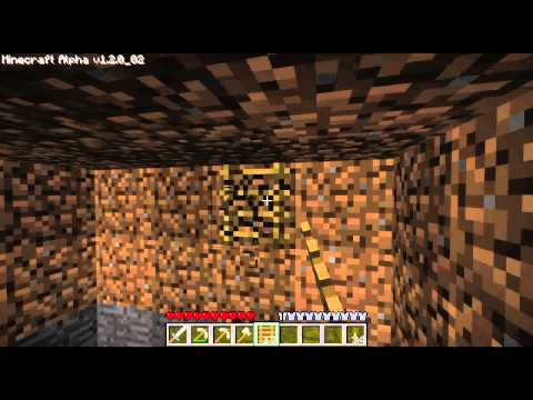[Minecraft] Folge 1 [German] Höhle! [alpha 1.2.0]