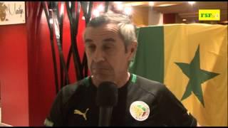 Eliminatoires CAN 2015 | Alain Giresse après match Egypte 0-1 Sénégal