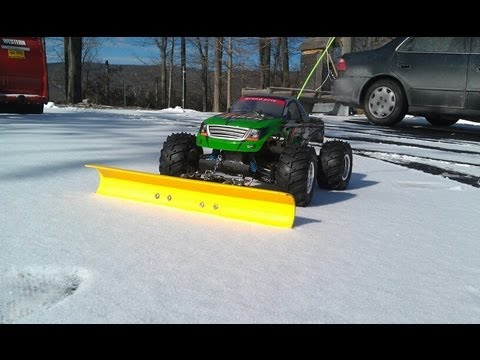 RC Snow Plow (Episode 1) - YouTube