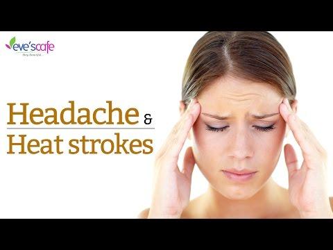 Natural Remedy - Summer Series - Headache and Heat Strokes