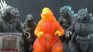 """Godzilla repaints"" Bandai SH Monsterarts"