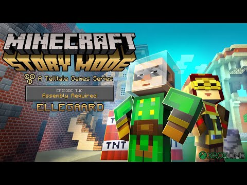 Minecraft: Story Mode (Xbox One) - 1080p60 HD Walkthrough Episode 2 - Assembly Required