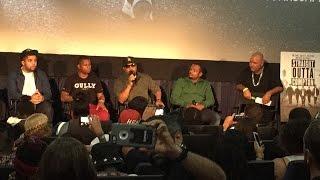 Straight Outta Compton Q&A at Miami screening 7/23/15