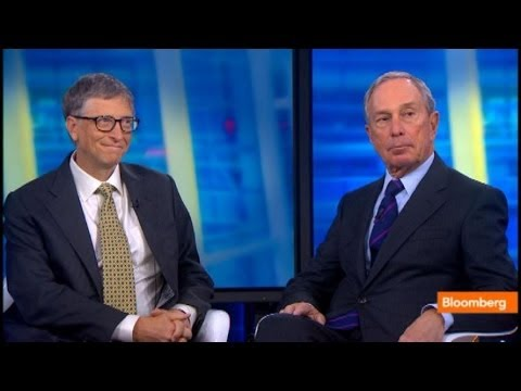 Bloomberg, Gates: Philanthropic Progress on Poverty