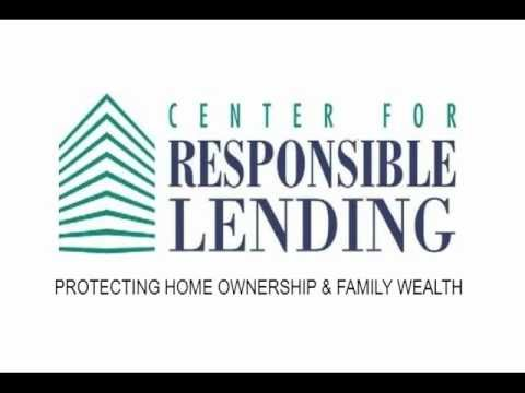 Bank Payday Lending Basics webinar, Center for Responsible Lending