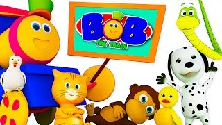 Nursery Rhymes & Music For Kids | Children Cartoon Songs by Bob The Train