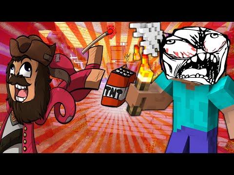 Minecraft: Trolling a Squeaker 26