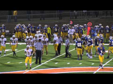 kettle moraine varsity football vs catholic memorial high school 9-26-2014 - 09/28/2014