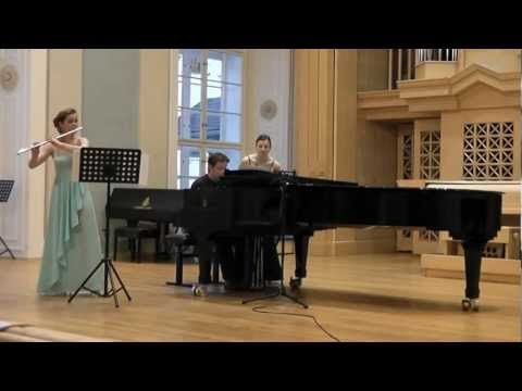 Jan Novák - Choreae vernales for flute and piano