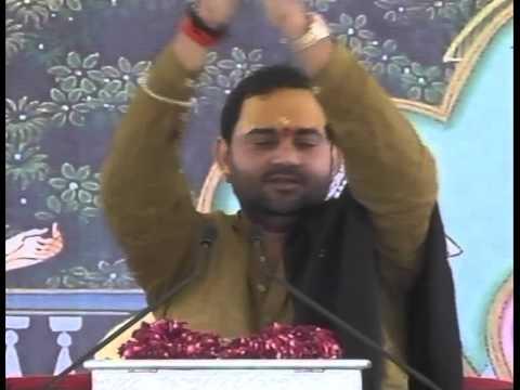 Manoj Bhai Shukal Banke Bihari Ki Dekh Chata video