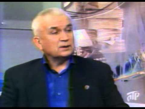 Зазнобин В М  2004 04 07)   Беседа о Пушкине в ТВ передаче Источник Вдохновения