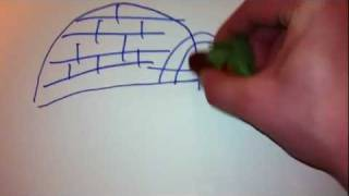 Tutorial: How to Draw an Igloo