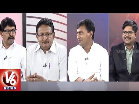 Special Debate On CM KCR Meeting With Modi And CWC Meeting | Good Morning Telangana | V6 News