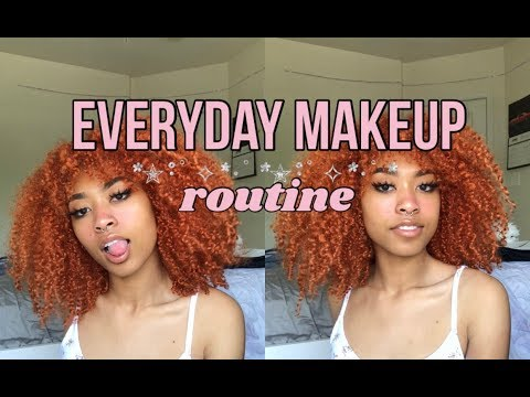 .。・:*:・my everyday makeup routine・:*:・。.
