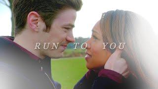 barry & iris | where do you run?